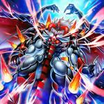 Jeweled Demon Dragon King - Red Daemon Calamity