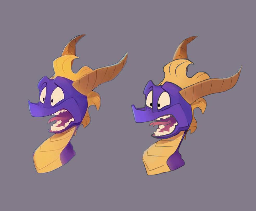 Spyro 3 by Z-nab27