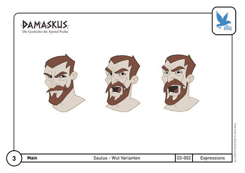 Character Design Saul 03