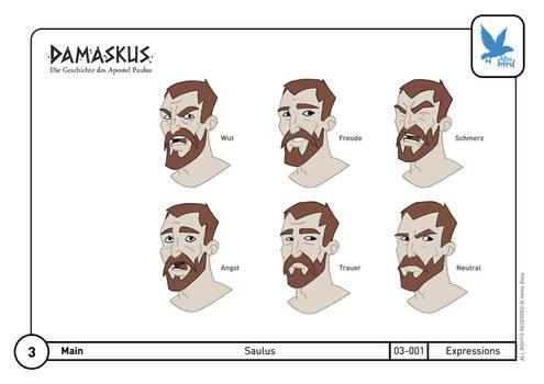 Character Design Saul 02