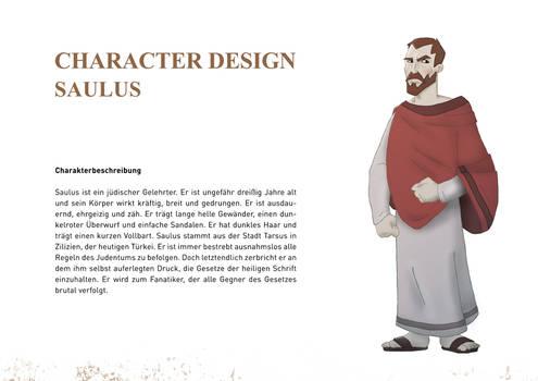 Character Design Saul 01