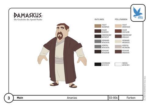 Character Design Ananias 04