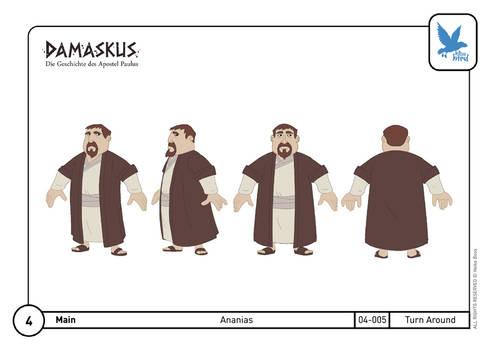 Character Design Ananias 03