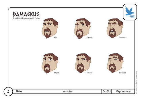Character Design Ananias 02
