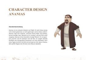 Character Design Ananias 01