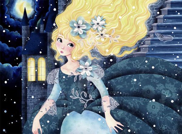 Cinderella by Tieneke