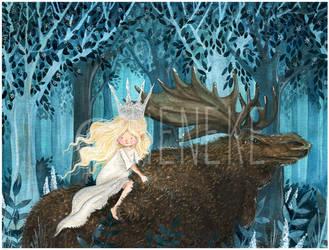 Princess Tuvstarr and Longleg Skutt by Tieneke