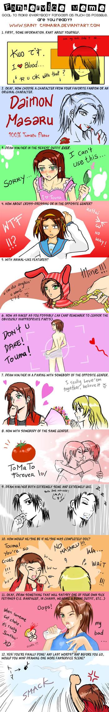 .:Masaru: Fanservice Meme1:. by TeamDats
