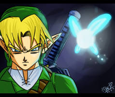 Link-DBZ Style by GalletoconK