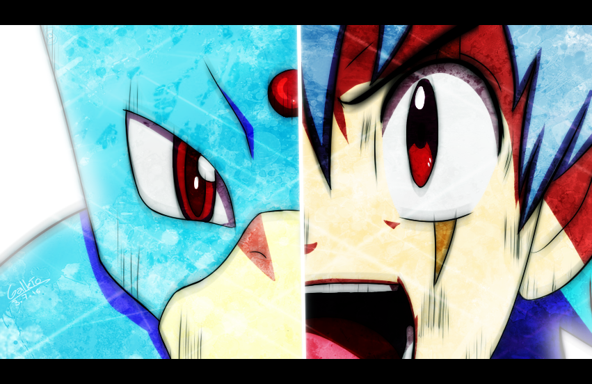 Golduck and Kazuo synchronyze! by GalletoconK