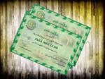 Egyptian Bank Certificate
