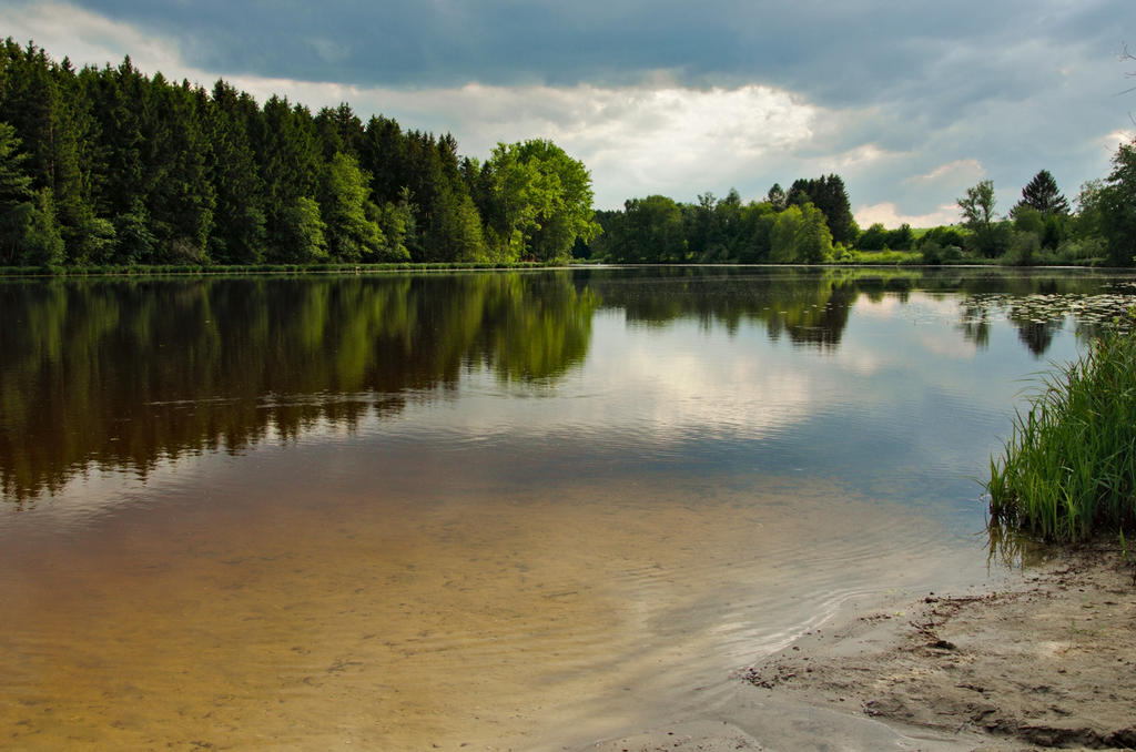 Lake Engelsried by sannwald