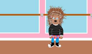 Ash the Porcupine