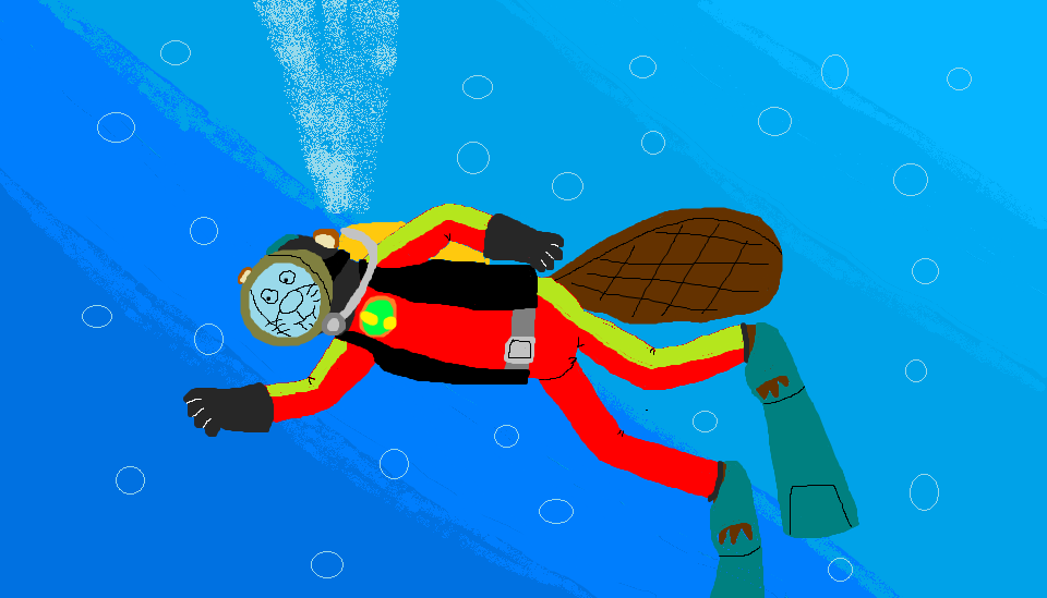 Greg Beaver Underwater by ewan4me