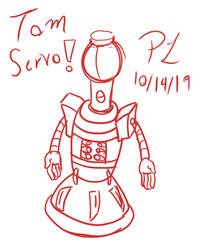 Tom Servo -Sketch-