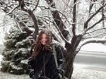 A very frosty Coat-rack