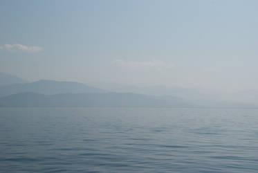 Blue Sky, Blue Mountains, Blue Sea
