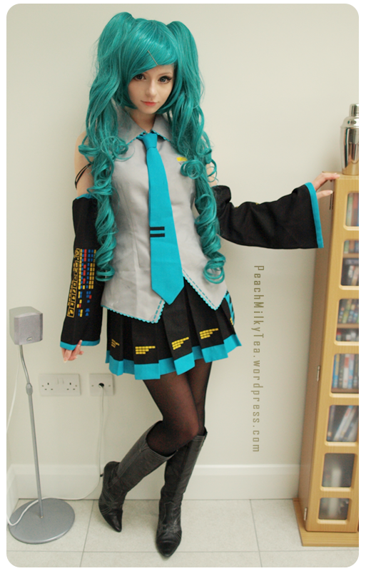 hatsune miku cosplay - photo #29