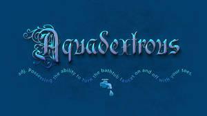 Aquadextrous