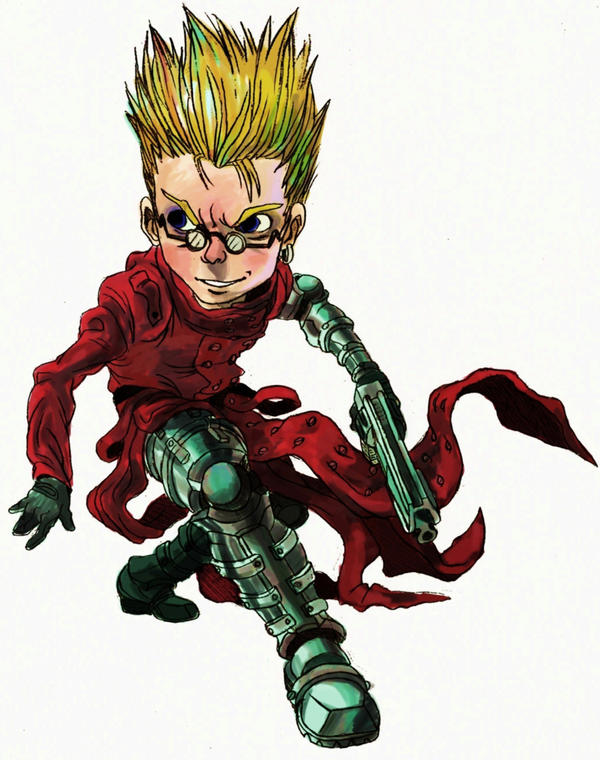 Vash The Stampede By Yesthisisaaron