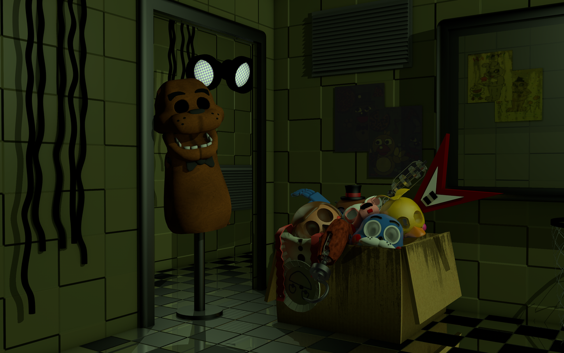 Group of Fnaf 3 Boxes Resource