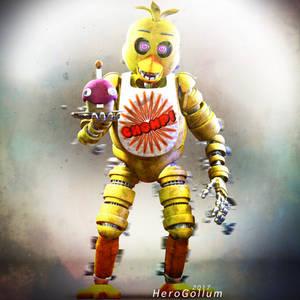 Stylised Chica RENDER