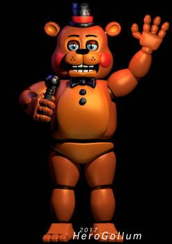 Toy Freddy - Cinema 4D - HeroGollum