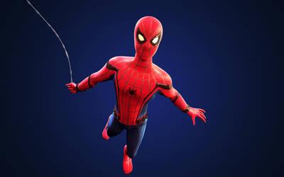 Spider-Man: Homecoming - Cinema 4D Wallpaper (1)