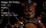Happy 3rd Birthday, Five Nights at Freddy's!