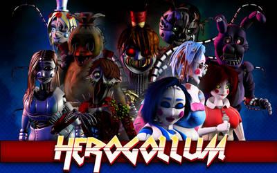 HEROGOLLUM (Wallpaper) by HeroGollum