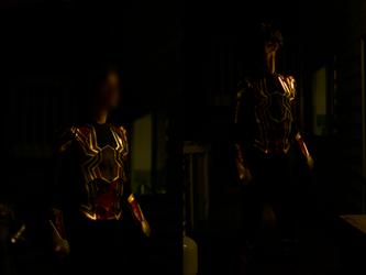 Iron Spider Cosplay (Avengers: Infinity War) by HeroGollum
