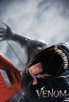 Venom Poster (Cinema 4D) by HeroGollum