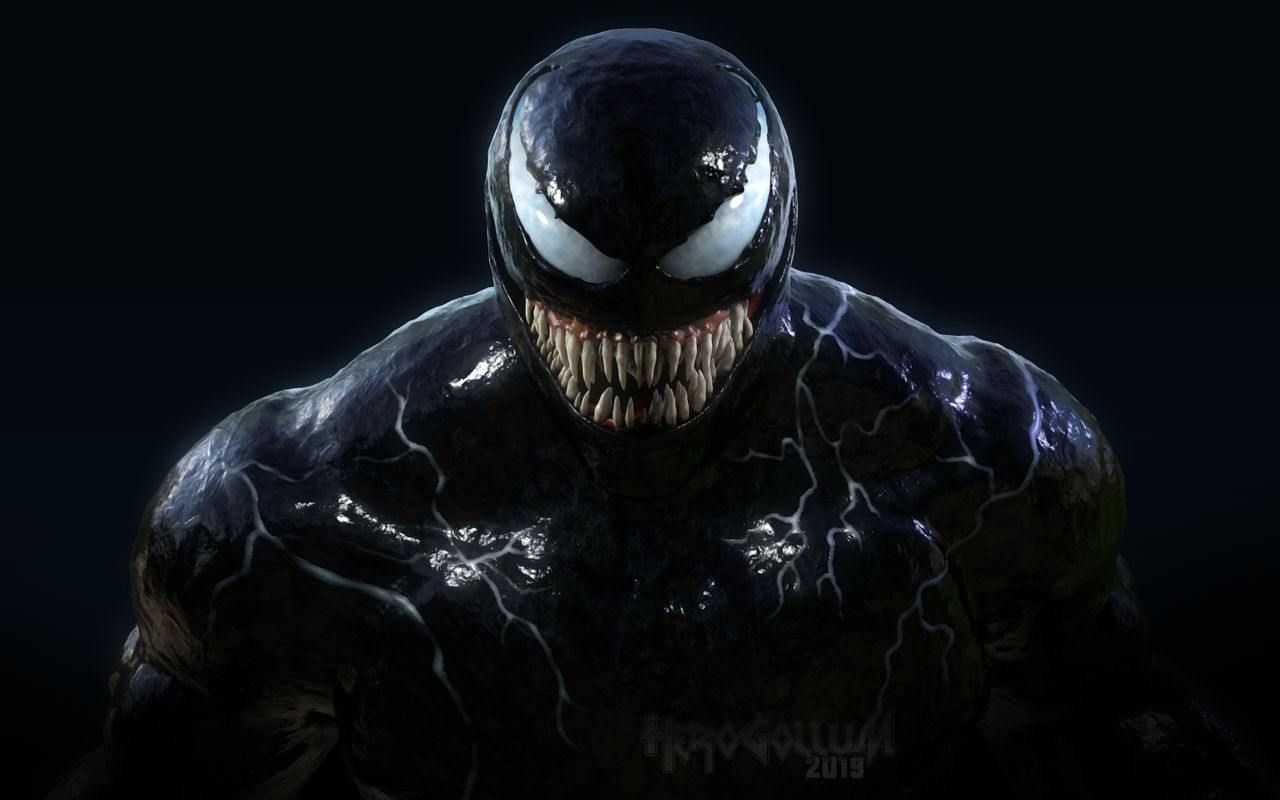 Venom Wallpaper Again Again Cinema 4d By Herogollum On Deviantart