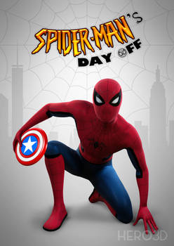 Spider-Man's Day Off (Underoos Poster)
