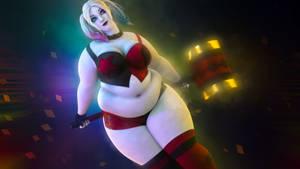 Fat Harley Quinn - Render 4 (Cinema 4D)