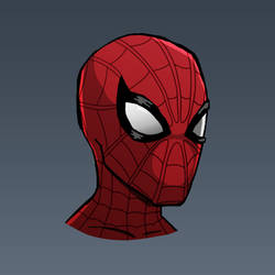 Spider-Man Portrait Sketch