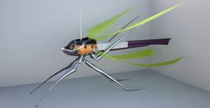 WIP Dragonfly Spelljammer ship