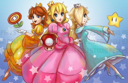 Peach and Friends