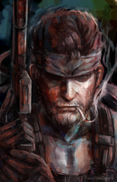 Metal Gear Solid by Pew-PewStudio