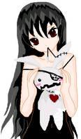 My vampire OC by Kana-of-the-Flames