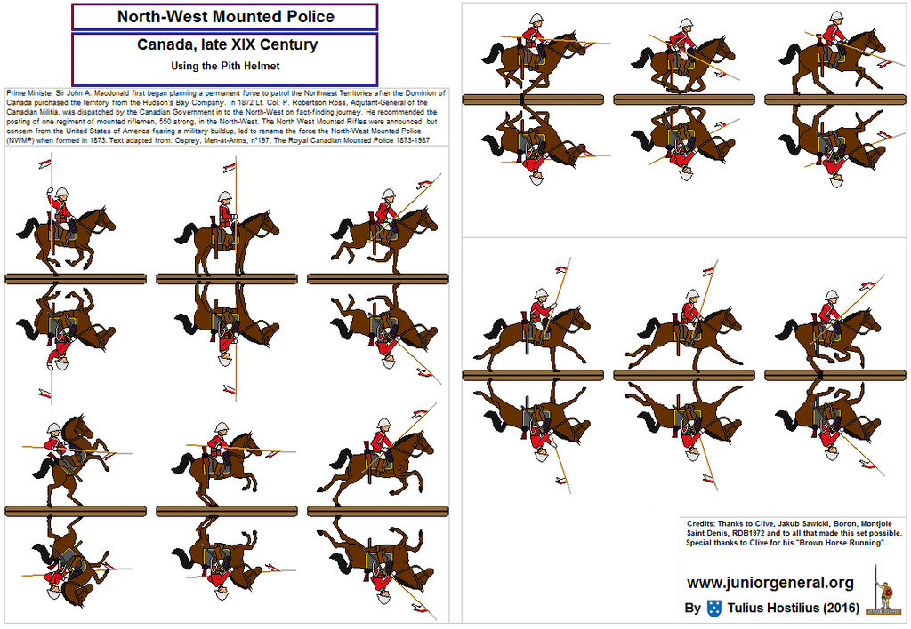 9953c21d2de 561 North West Mounted Police Canada Pith Helmet 1 by TuliusHostilius ...