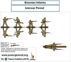 2333 Estonian Infantry 1.2 by TuliusHostilius