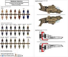 1260 Battlestar Galactica set 1.4 by TuliusHostilius