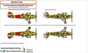 1263 Hawker Fury Espana 1.2 by TuliusHostilius