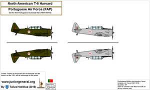 1264 North American T-6 Harvard 1.3 by TuliusHostilius