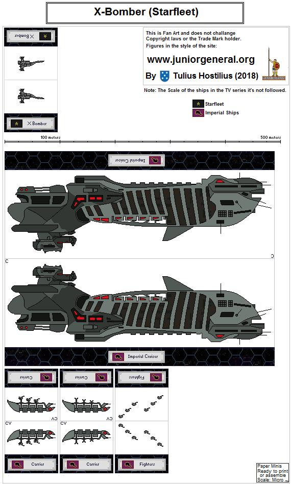 2358 Starfleet X Bomber 1.8 by TuliusHostilius