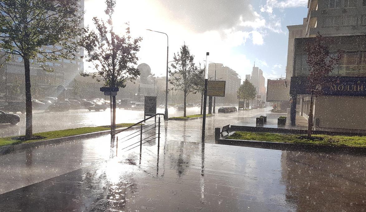 Sudden rain by grimnir11
