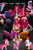 Pinkie Pies cosplay
