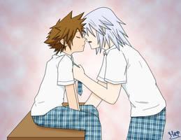 Sweet kiss by Inuchiha
