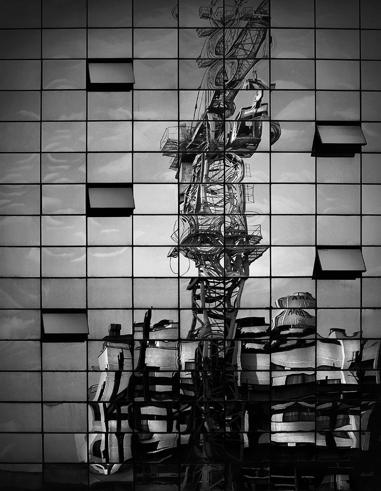 Industrial reflection II by mldzz